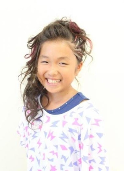 子供 ダンス 髪型