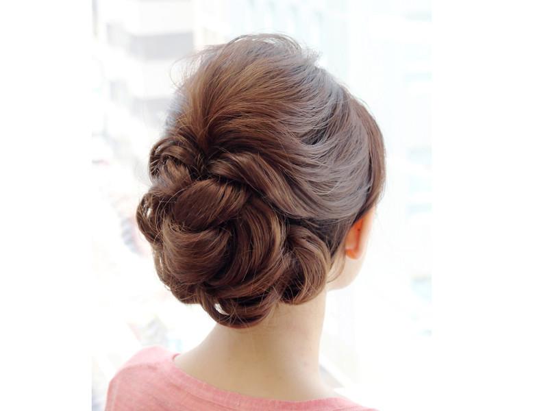 神戸三宮へアセット 着物レンタル着付け Hair Set Mircus ヘア
